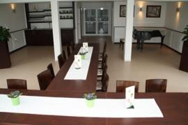 Der Sall im Café am See Bad Meinberg