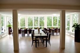 Komplettansicht Saal - Café am See Bad Meinberg