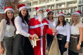 Café am See Team in Weihnachtsstimmung