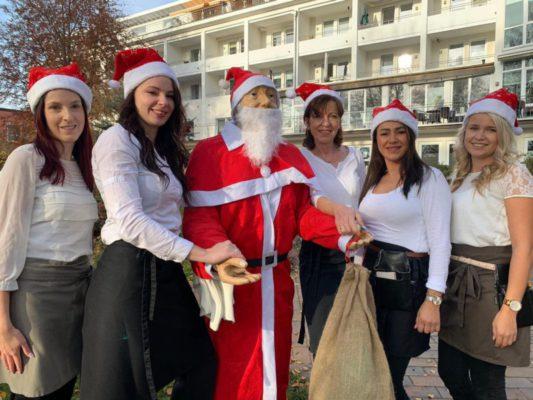 Team Café am See in Weihnachtsstimmung